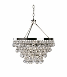 Flair Chandelier | Polished Nickel