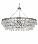 Flair Grand Chandelier | Polished Nickel