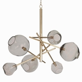 Fomo Chandelier | Brass