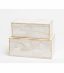 Foster Shell Boxes Set | Natural