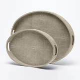 "Francis ""Shagreen"" Trays Set 