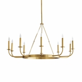 Frankfurt Chandelier | Antique Brass