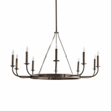 Frankfurt Chandelier | Dark Brass