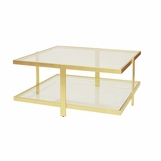 Freeman Coffee Table | Gold
