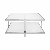 Freeman Coffee Table | Nickel