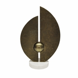 Fronda Sculpture | Antique Brass