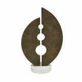 Frondu Sculpture | Antique Brass