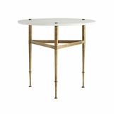 Gale Marble Side Table