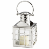 Galley Nickel Lantern | Short