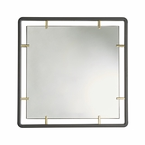 Garner Iron Square Mirror