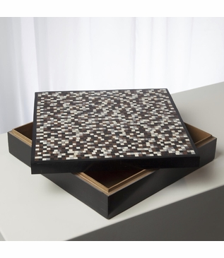 Garvey Patterned Box | Square