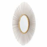 Garza Oval Wall Mirror
