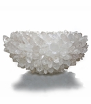 Gemstone Encrusted Bowls | Clear Quartz