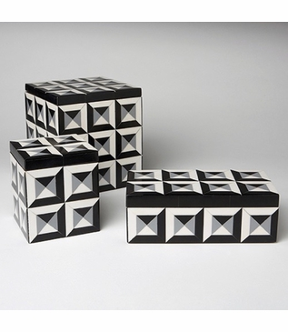 Geo Shaded Cubes Boxes