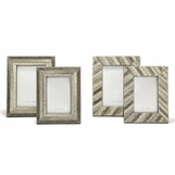 Gerald Cowhide Frames Set | Grey