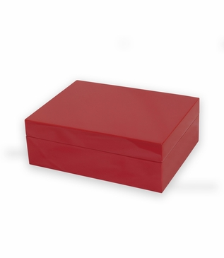 Gianni Lacquer Box | Red