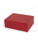 Gianni Lacquer Box   Red