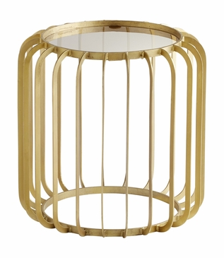Gildrum Gold Side Table