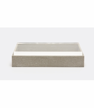 "Gimba Rectangular ""Shagreen"" Box 