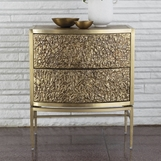 Glamora Side Table | Brass & Bronze
