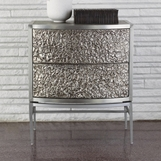 Glamora Side Table | Nickel
