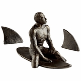 Gnarly Surfer Sculpture
