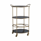 Goleta Round Bar Cart