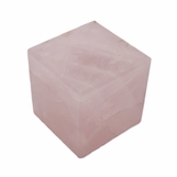 Gonza Gemstone Cube | Rose Quartz