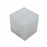 Gonza Gemstone Cube | White Quartz