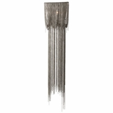 Goulding Long Swag Sconce | Silver