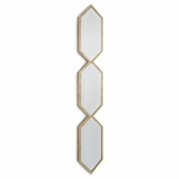 Grace Mirrored Panel | Gold