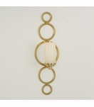 Graduated Wall Sconce | Brass