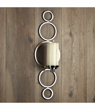 Graduated Wall Sconce | Nickel