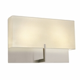 Grappa Wide Sconce | Nickel