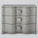 Greta Linen Chest | Grey