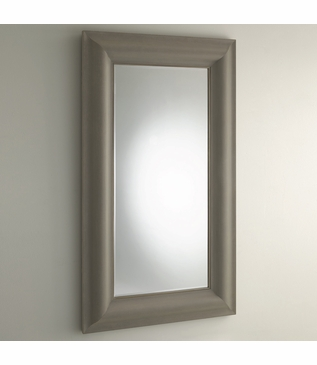 Greta Linen Floor Mirror | Grey