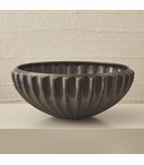 Grillo Ceramic Bowl | Dark Grey