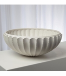 Grillo Ceramic Bowl | White