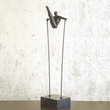 Gymnast Iron Sculpture | No. 1