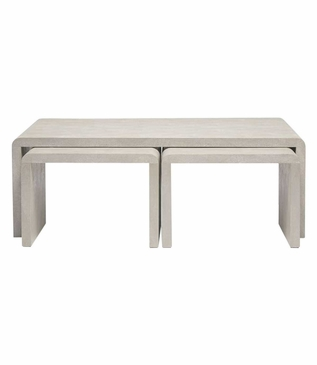 """Harley """"Shagreen"""" Nesting Coffee Tables 