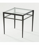 Harper Bronzed Side Table | Short