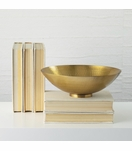 Hawley Bowl | Antique Brass