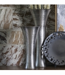 Hawley Vases | Antique Nickel