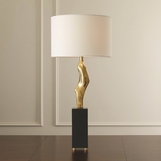 Hawn Conceptual Table Lamp | Brass