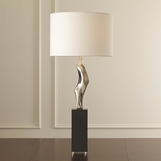 Hawn Conceptual Table Lamp | Nickel