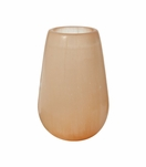 Heavenly Selenite Candleholder | Peach
