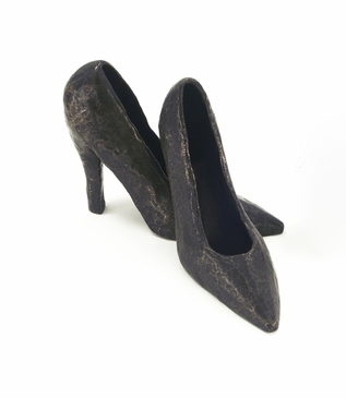 Heels Bronze Sculpture