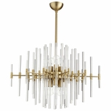 Helena Brass Chandelier | Large