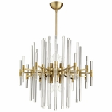 Helena Brass Chandelier | Medium