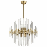 Helena Brass Chandelier | Small